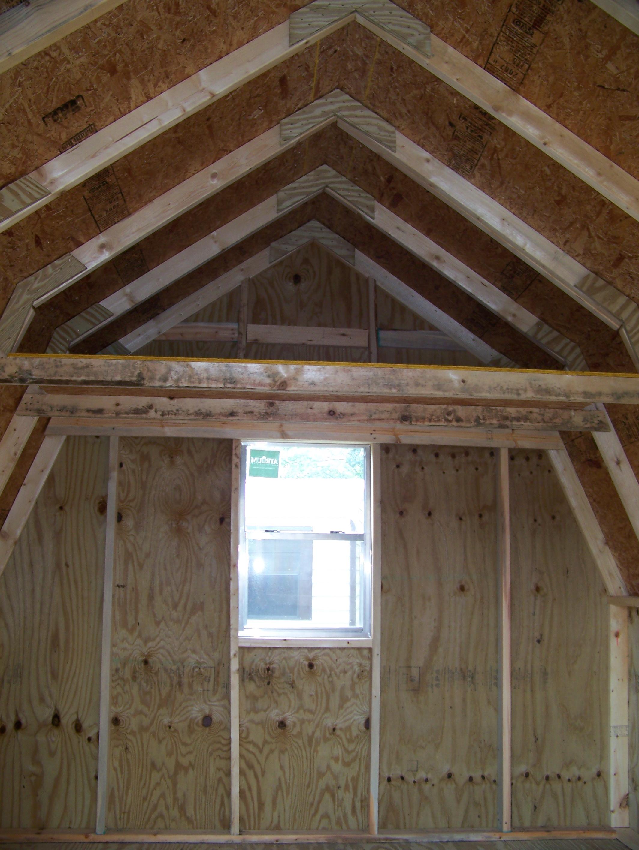 Window in barn