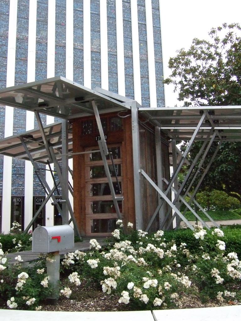 Solar Powered Shack Sculpture