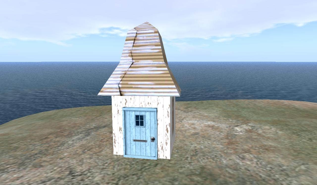 Ground base: tiny house and Anwhere door