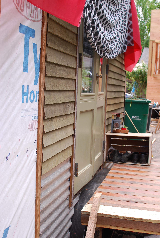 jenine a.'s current trailer tiny house