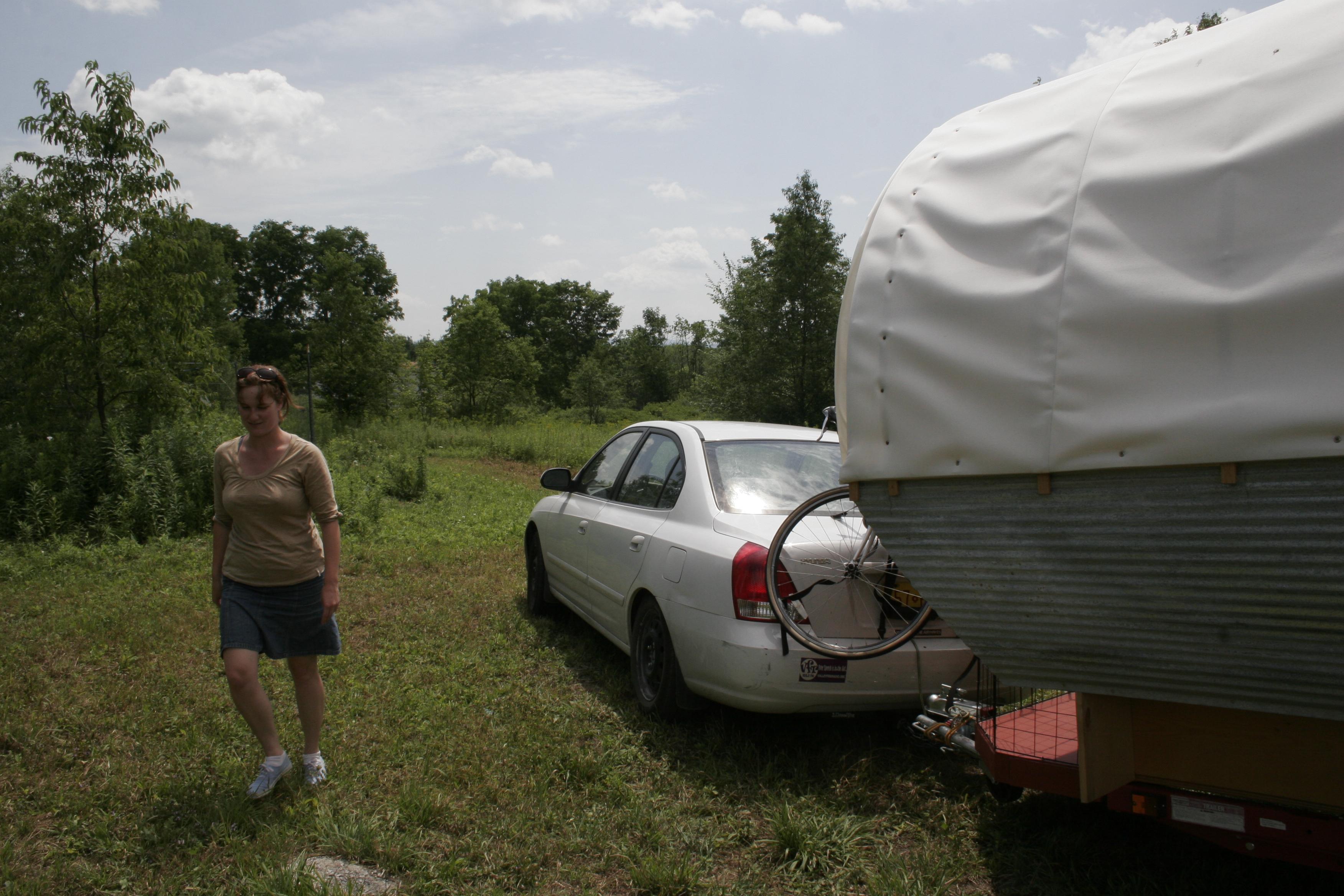 The Gyspy Wagon Arrives